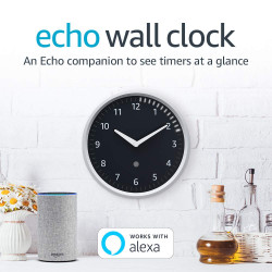 השעון החכם של אלקסה! Echo Wall Clock