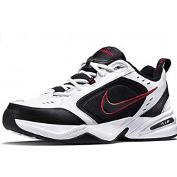 Nike Men's Air Monarch מידה 8.5 XW צבעWhite/Black