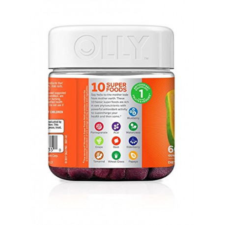 תוסף תזונה לנשים OLLY Women's Super Foods Multivitmain