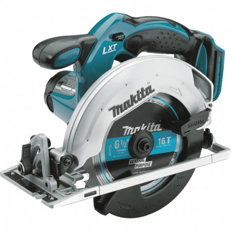 Makita XSS02Z 18V LXT Lithium Ion Cordless Circular Saw, 6 1/2 Inch כולל שנאי