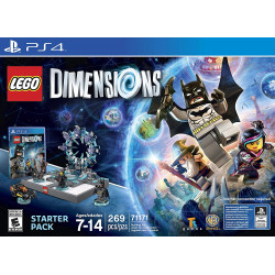 LEGO Dimensions Starter Pack  PlayStation 4  משחק לגו לפלייסטיישן