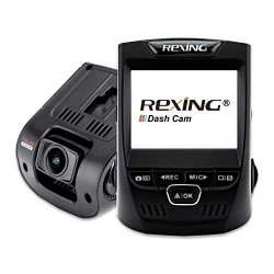 Rexing V1 2.4 LCD FHD 1080p 170 Wide מצלמה לרכב