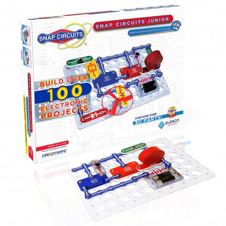 Snap Circuits Jr. SC-100 Electronics Discovery Kit (1196566)